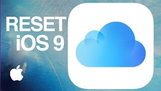 How to Reset iCloud, delete old backup and make new backup iCloud iOS 9 iPhone iPad iPod