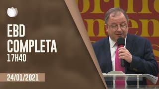 ESCOLA BÍBLICA DOMINICAL  17h40   Rev. Arival Dias Casimiro    Igreja Presbiteriana de Pinheiros