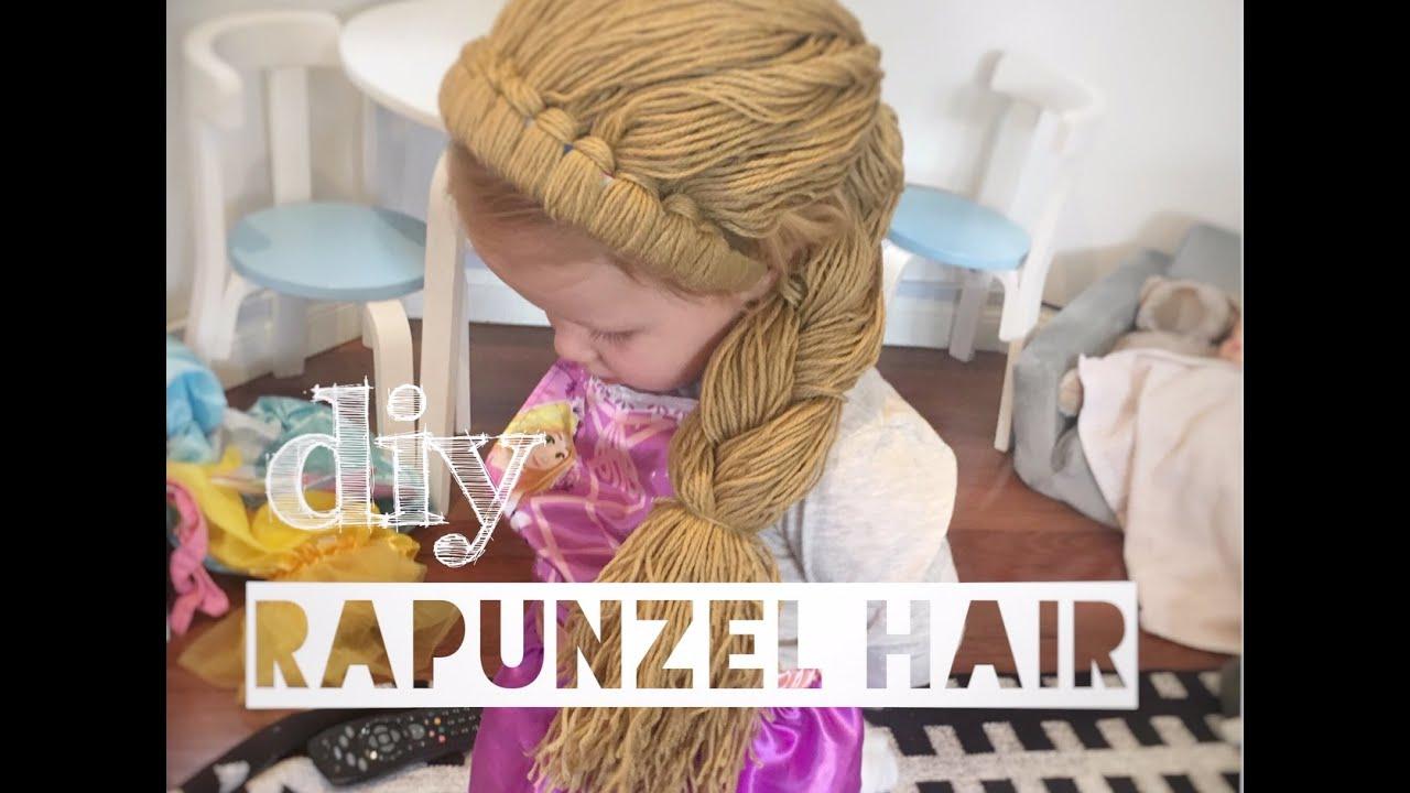 Disney Princess Hair Diy Kids Dress Up Mummy Maker Youtube