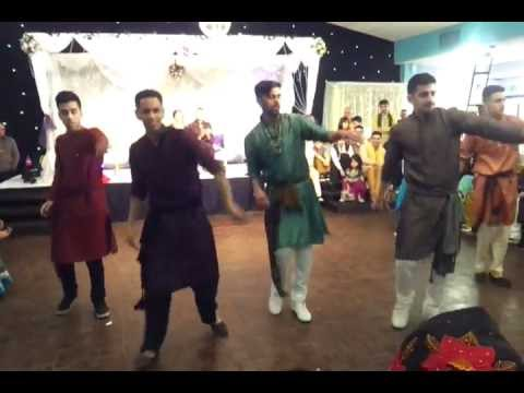 Best Mehndi dance routine! Performance 2013!: 2nd Mehndi dance routine performed by the Goon Squad on Saturday 16th February 2013.. Please share! Enjoy!! 8)  watch our first performance here http://www.youtube.com/watch?v=iwAJ49dYrZ0  Instagram: Zeb_Jamaal_Mirza  Twitter: https://twitter.com/Jamaal_Mirza Twitter: https://twitter.com/#!/justcallmeSully http://www.facebook.com/SULTAN.L