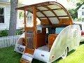 Vintage trailer restoration 1947 Kampmaster