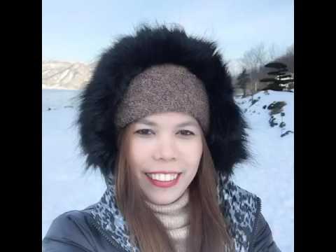Hokkaido japan trip @ Lake Touya