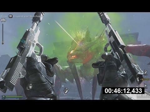 Extinction Nightfall Speedrun #1 [46:33] - Call Of Duty Ghosts Gameplay Walkthrough Onslaught DLC