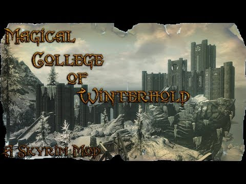 Skyrim: Magical College of Winterhold Mod
