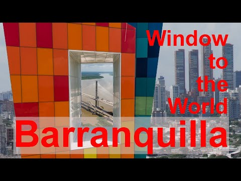Window To The World Barranquilla, Colombia - Drone