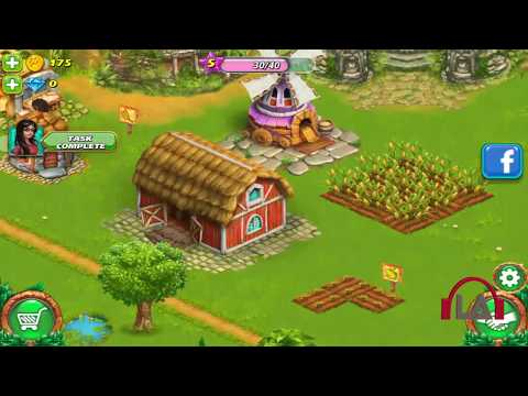 best farming game 2017 for android, ios, pc (GAMINGwithLA) Farm Tribe 3: Farm Island Gameplay video