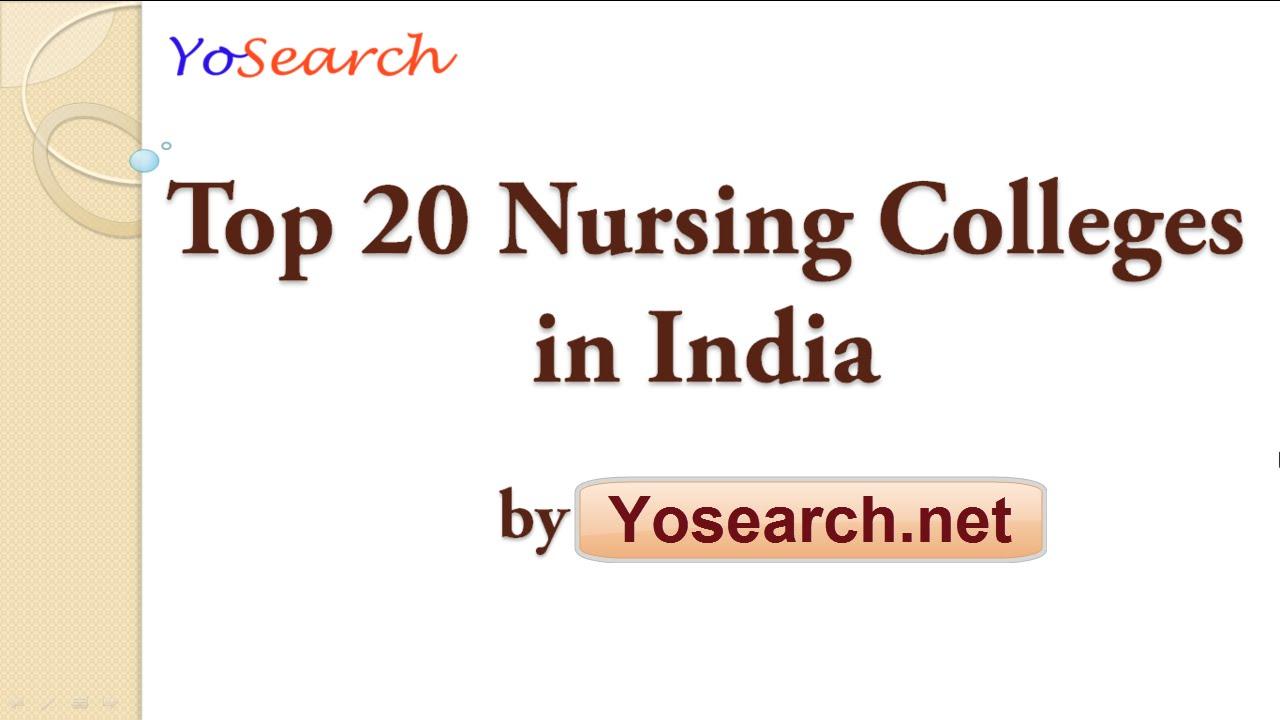 Best Nursing Colleges >> Top 20 Nursing Colleges In India Best Nursing Colleges In India