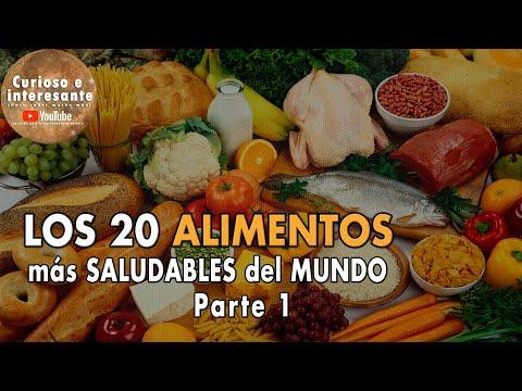 los 10 alimentos mas saludables muy interesante