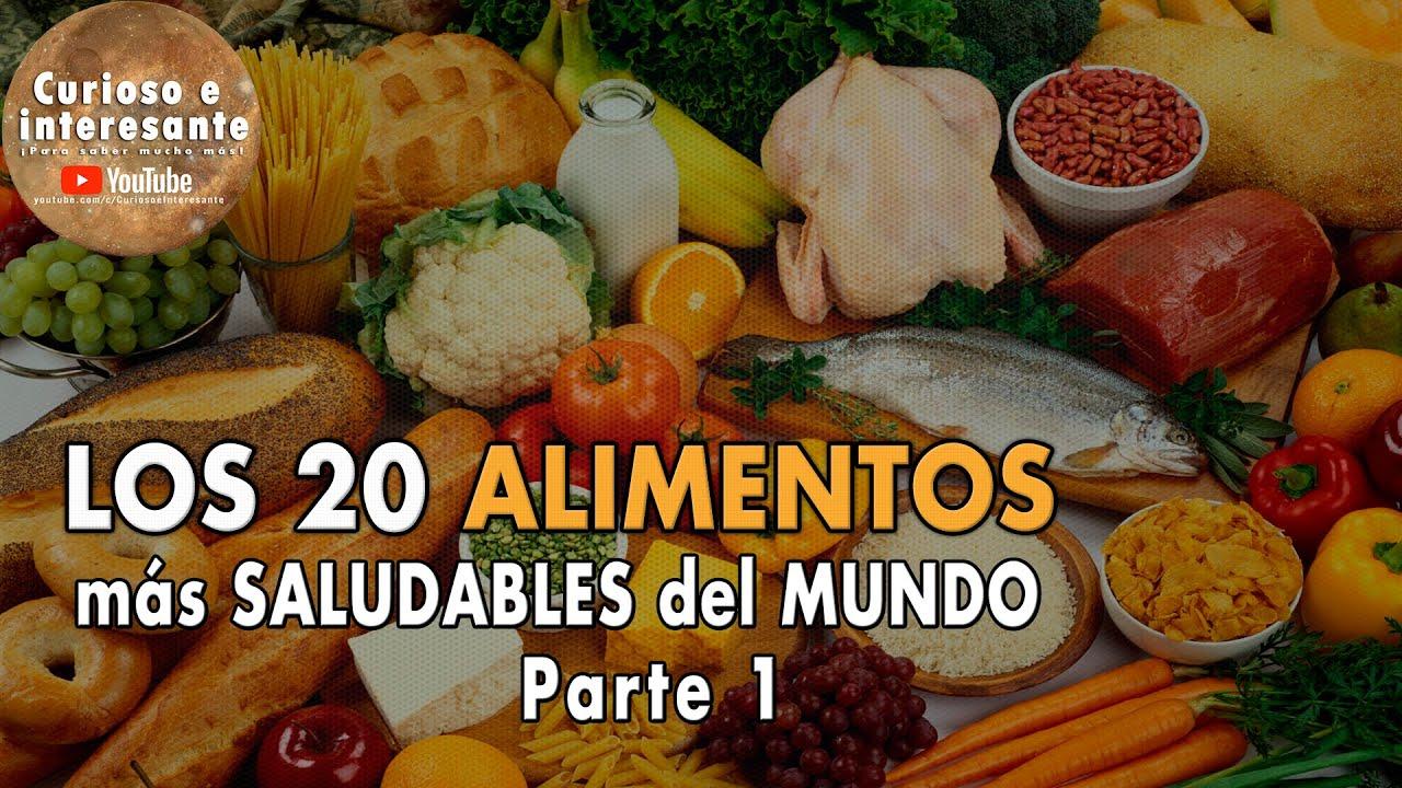 30 comidas saludables en ingles