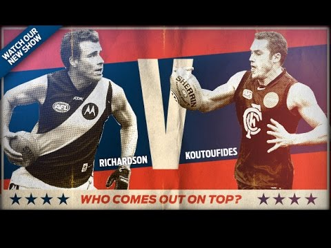 Versus - Matthew Richardson v Anthony Koutoufides