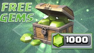GET FREE GEMS EVERY DAY - Clash of Clans TRICK | BETTER THAN GEM MINE