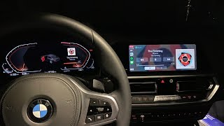 BMW iDrive 7 with iPhone 11 Pr…