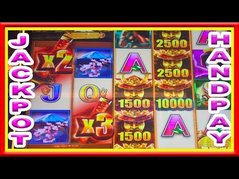 ** JACKPOT HANDPAY ** WILD WILD SAMURAI ** NEW GAME ** SLOT LOVER ** - 동영상