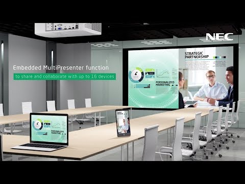 NEC ME Series Projectors for Meeting Rooms & Conferencing