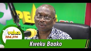 Kweku Baako Schools NDC...As He Releases Facts To Prove Them Wrong