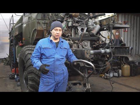 Армейский эвакуатор УРАЛ МТП. Часть 3.