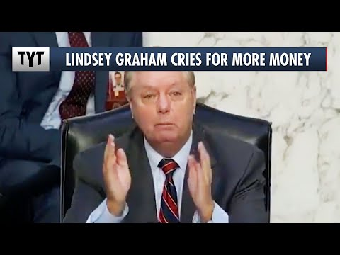 WATCH How Desperate Lindsey Graham Is For Money