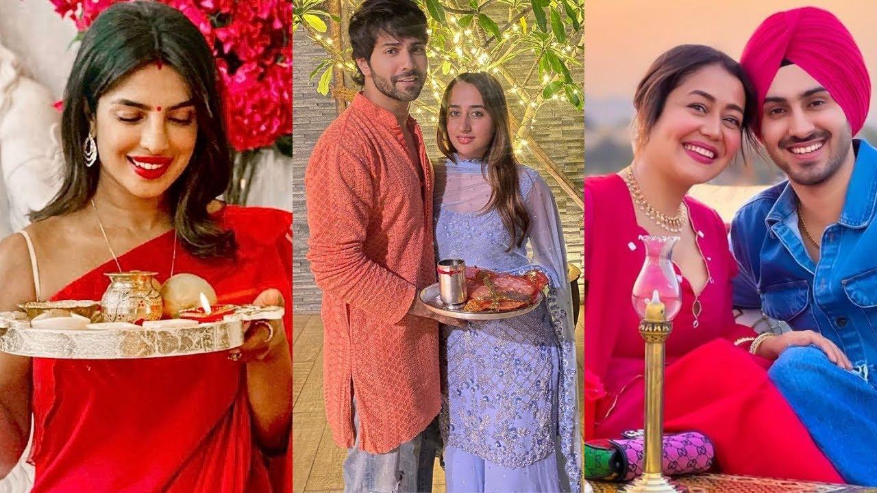 Top 10 Bollywood Actresses Karwa Chauth Celebrtions - 2021 - Priyanka Chopra, Ansuhka Sharma,Kareena