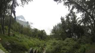 Nubes en cerro El Avila, Caracas, Venezuela