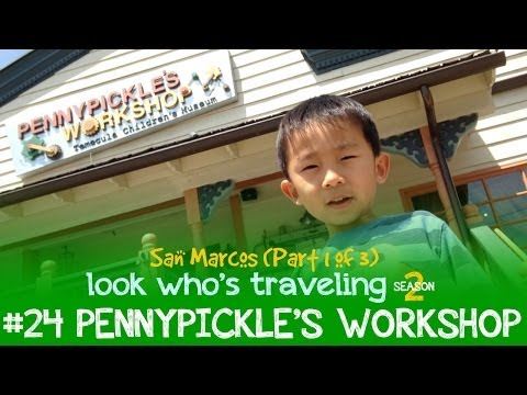 Things to do in San Marcos, California with Kids (Pennypickle's Workshop): Look Who's Traveling