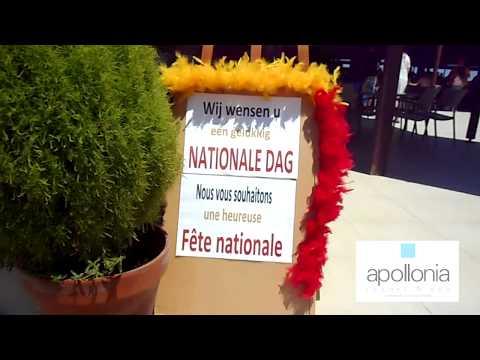 Apollonia Beach Resort & Spa celebrating the Belgium National Day