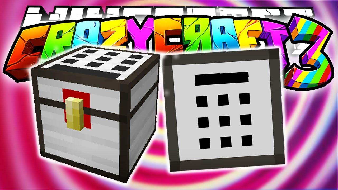 Minecraft crazy craft 3 0 password chests security m for Http test voidswrath com modpacks crazy craft 3 0