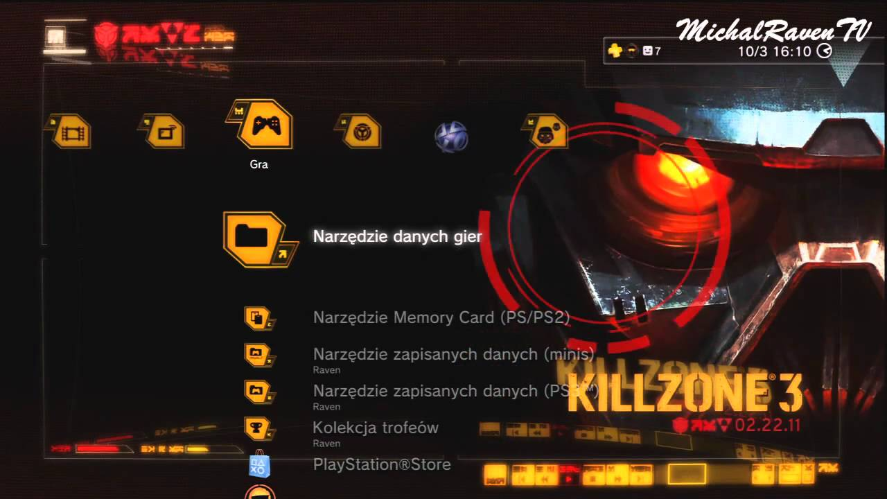 Killzone 3 - Hazmat Dynamic Theme (PS3)
