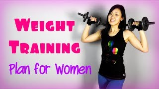 Full Strength Weight Training Plan for Women
