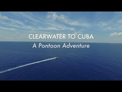 #1 You're Going Where On What? | Clearwater to Cuba Pontoon Adventure | Avalon Luxury Pontoons