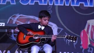 Guitar Playing Performed by Yash Sharma Student of jaipur Sangeet Mahavidyalaya