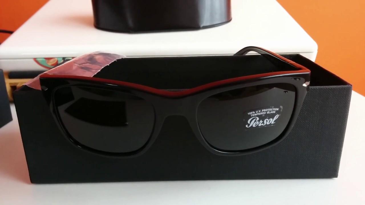 Sunglasses Persol 3135 S unisex black - YouTube 0c4ed547a0e3