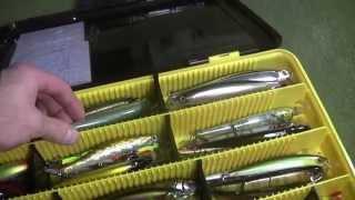 рыболовный ящик meiho versus vs 3080 и рабочие приманки