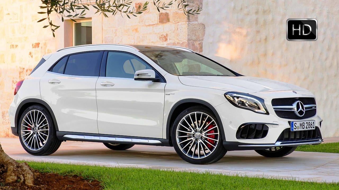 2017 Amg Gla 45 Mercedes Benz >> 2018 Mercedes-AMG GLA 45 4MATIC Cirrus White Exterior ...