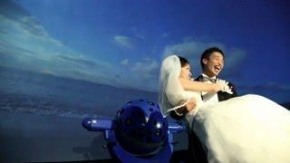 想いをかなえるプラネタリウム 「星空結婚式」 / コニカミノルタ thumbnail