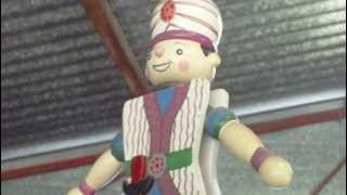 Video For Children Wood Toys Jumping Jack Puppet Sinbad For Kiddies Videos