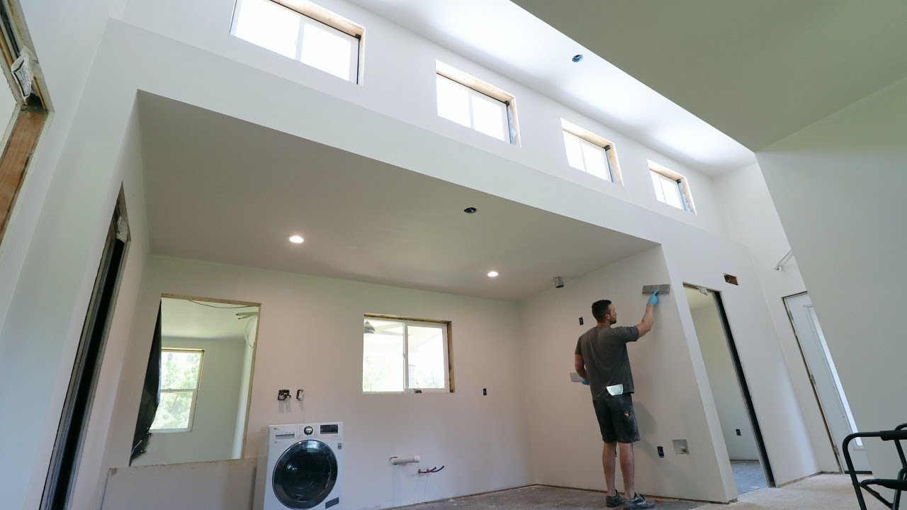 MIGHTY IMPRESSED | Finishing The Walls