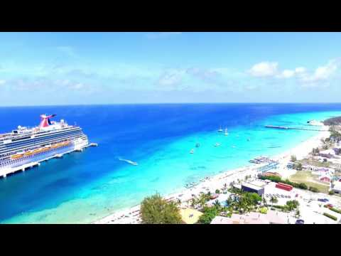 Grand Turk Cruise Port by Drone