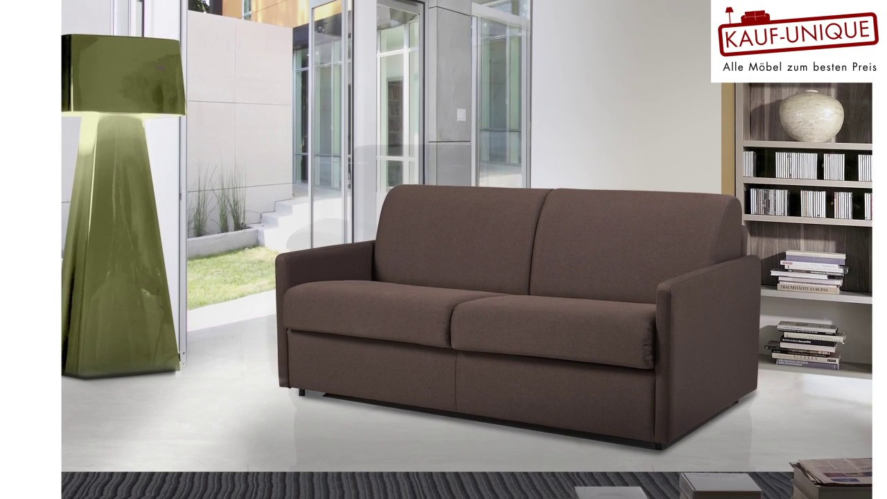 Schlafsofa Mit Express Bettfunktion Matratze Calife