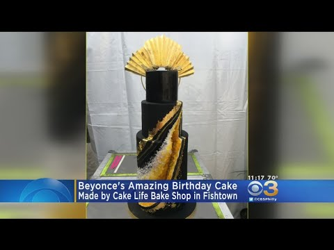 Philly Shop Designs Beyonce's Birthday Cake