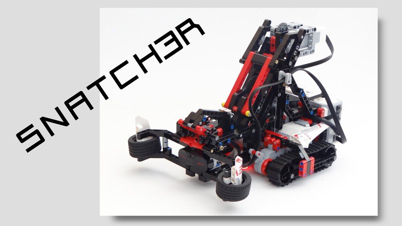 LEGO MINDSTORMS EV3 SNATCH3R: Autonomous Robotic Arm