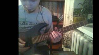 Disturbed - A Welcome Burden (guitar cover by Юрик)
