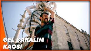 Heykel Teslimatında Sıkıntı  Guruldayan Kalpler Türk Komedi Filmi