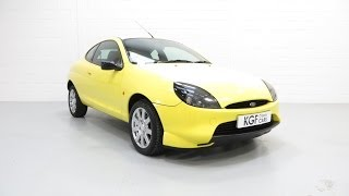An Impeccable and Vibrant Ford Puma Millennium Edition with Just Two Owners and Full History - SOLD!