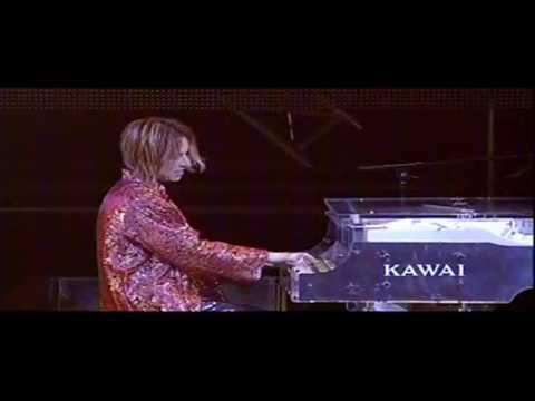 X Japan Dahlia on piano - live in Hong Kong 2009