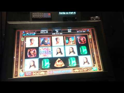 Da Vinci Diamonds 10c line hit #1 - BIG WIN