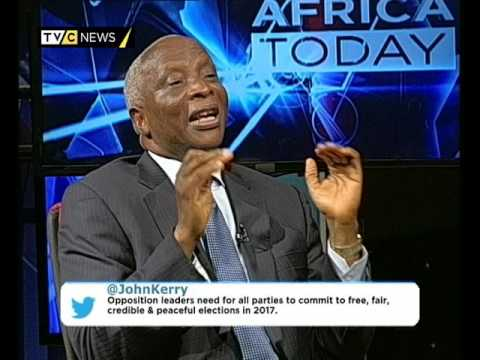 AFRICA TODAY ON KERRY'S VISIT TO AFRICA WITH CLEM BAIYE AND CHRIS WANGOMBE
