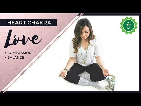 GUIDED MEDITATION TO UNBLOCK HEART CHAKRA - Melanie Kate Love