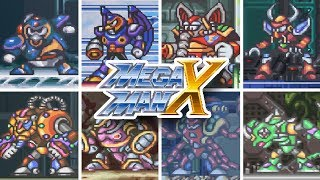 Mega Man X - All Bosses (Mega Man X Legacy Collection 1 + 2)