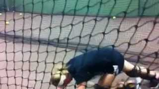 Jen Schro Catching Workout