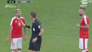 Suisse Belgique exclusion de Seferovic Football Diables